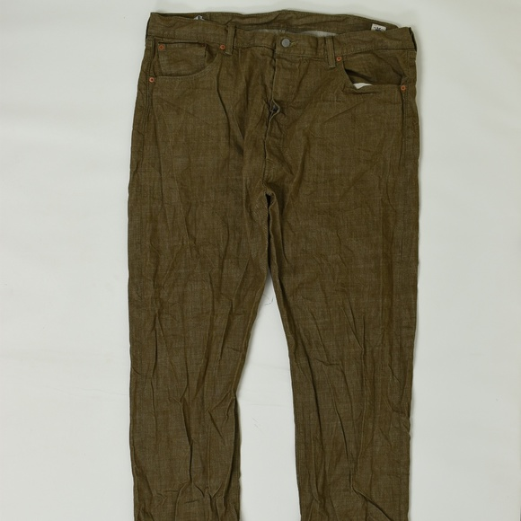 Levi's Other - Levis Regular  Brown 42x30 501 Cotton Solid